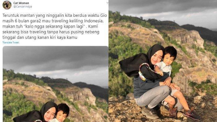 Viral Kisah Kebangkitan Istri Setelah Sempat Depresi Ditinggal Suami Demi Traveling