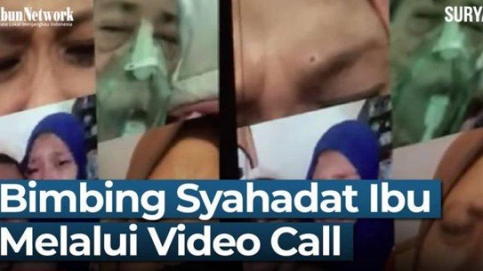 Viral, Melalui Video Call Anak-anak Histeris Saksikan Detik-detik Kematian Ibunya Positif Covid-19