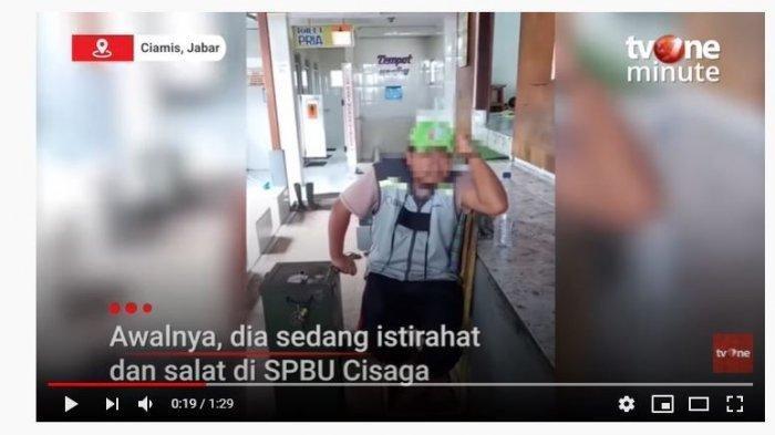 Viral Video Emak-emak Marahi Penjaga Toilet SPBU Diduga Berbuat Tak Pantas Pegang Bokong saat Lewat