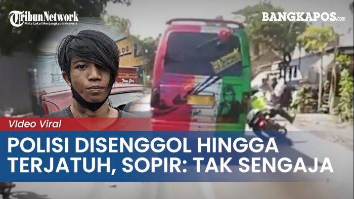 Bang Jago Bikin Aipda Irvan Jatuh Terjungkal dari Motor dan Nyaris Tewas, Ngaku Nggak Sengaja