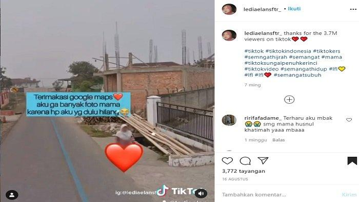 Meninggal 4 Tahun Lalu, Wanita Ini Temukan Ibunya di Google Maps: Bersyukur Bisa Lihat Ibu Lagi