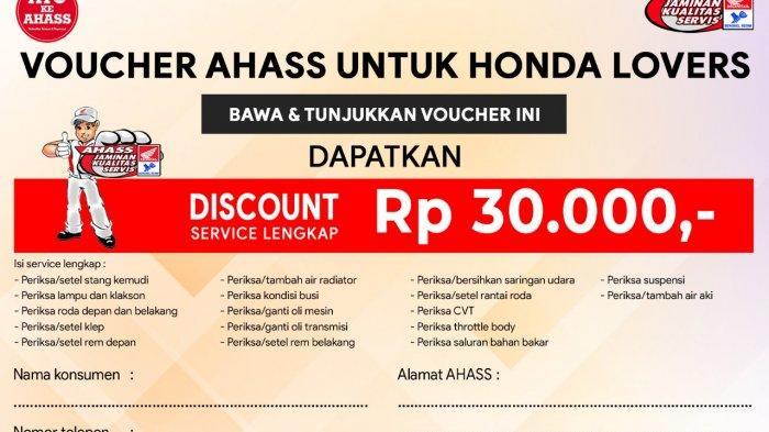 Servis di AHASS Nusantara Sakti Sungailiat Raih Undian Motor Honda Beat