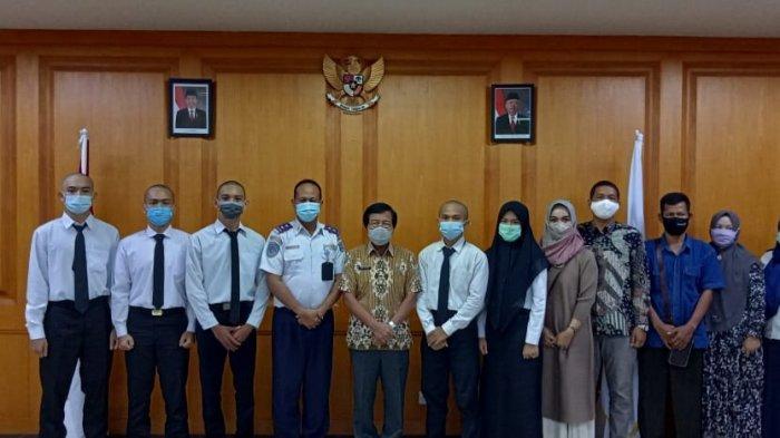 Wagub Lepas Lima Calon Taruna Taruni Asal Bangka Belitung Untuk Ikuti Pendidikan di STTD