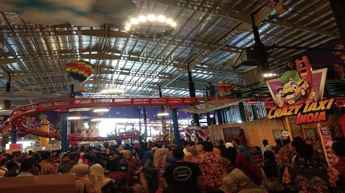 Cukup Rp 100 Ribu Bisa Main di Wahana Trans Studio Transmart Pangkalpinang