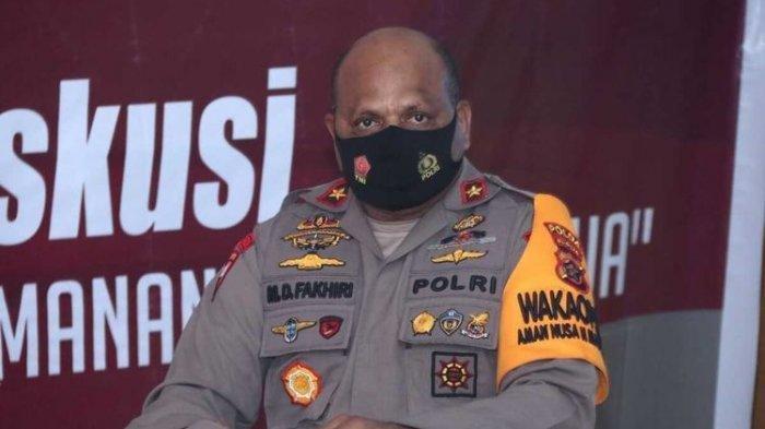 Wakapolda Papua, Brigjen Matius D. Fakhiri.