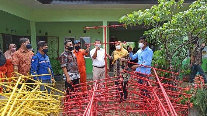 Terima Bantuan Alat Kebersihan dari PT Timah, Wabup Targetkan Piala Adipura untuk Bangka Selatan
