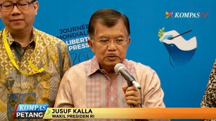 Jusuf Kalla Bantah Intervensi Pencalonan Anies Baswedan