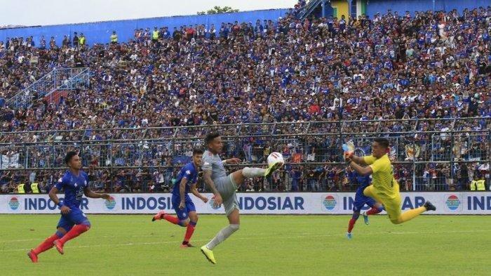 Hasil Arema FC vs Persib Bandung, Maung Bandung Lukai Singo Edan