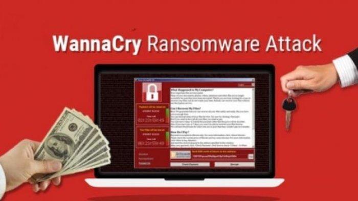 Ciri-ciri Komputer Kena Virus Ransomware WannaCry