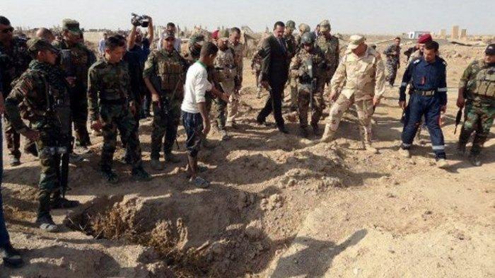 Lagi, Kuburan Massal Berisi Puluhan Jenazah Kembali Ditemukan di Irak