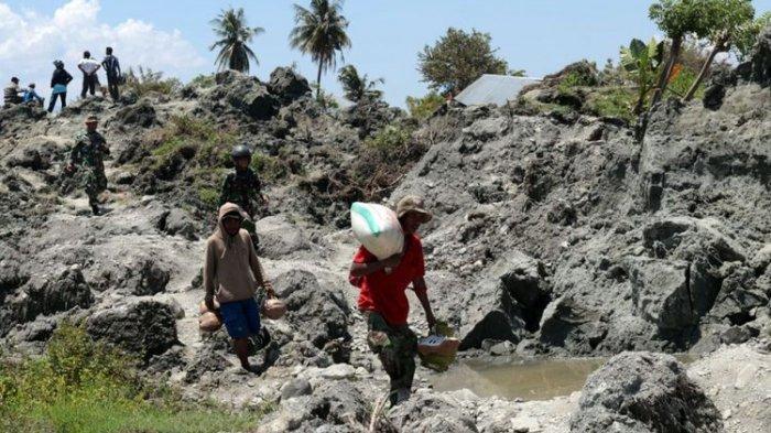 Rumah Warga Palu Lenyap Ditelan Bumi Saat Gempa, Simak Kisah Likuifaksi Dalam Alquran