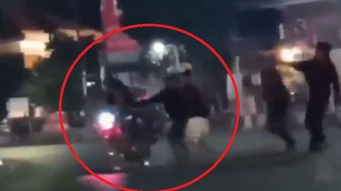 Video Viral Warga Probolinggo Serang Pemotor Konvoi Gara-gara Geber Knalpot Brong