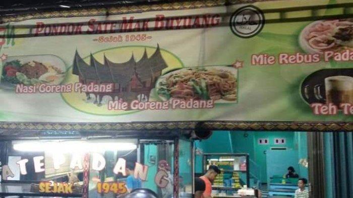 Lezatnya Sate Padang Mak Buyuang, Kuah Kental Bumbu Meresap.