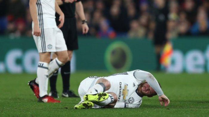 Wayne Rooney Mengamuk Usai Ditarik Keluar, Ini Penyebabnya