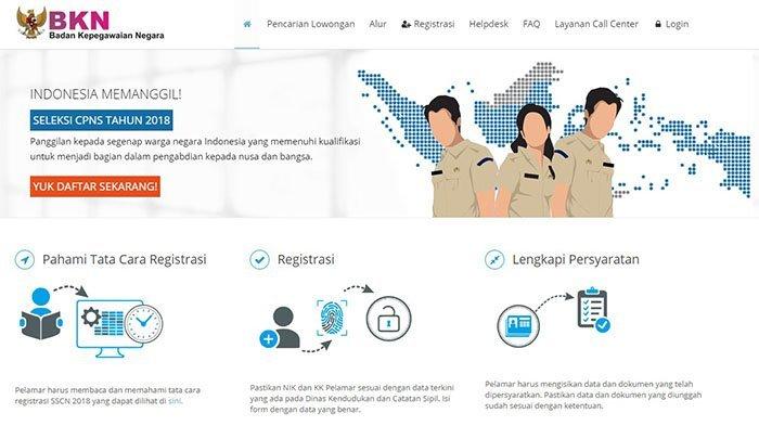 CPNS 2018 - Pelamar Harus Tahu, Ini Ukuran Dokumen CPNS yang Bisa Diunggah ke Situs Sscn.bkn.go.id