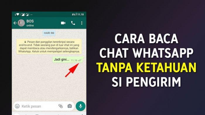 Begini Cara Membaca Whatsapp Diam-diam Tanpa Ketahuan Sedang Online, Simak Penjelasannya