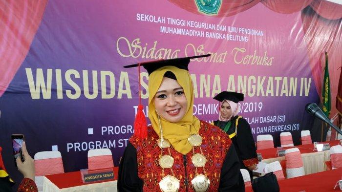 Pernah Jadi Atlet Badminton, Widati Amalin Ulfah Bangga Menjadi Dosen Olahraga