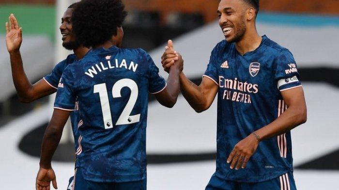 Kickoff 02.00 WIB, Ini Link Live Streaming Arsenal Vs West Ham