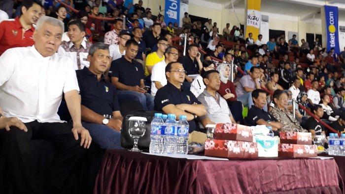 Wiranto Saksikan Langsung Final Kejurnas PBSI 2017 Gubernur Babel