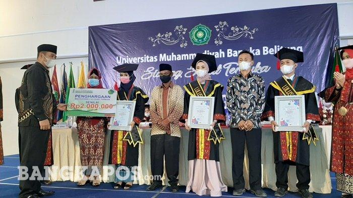 Universitas Muhammadiyah Bangka Belitung Wisuda 151 Sarjana, Ini Pesan Rektor - wis5.jpg