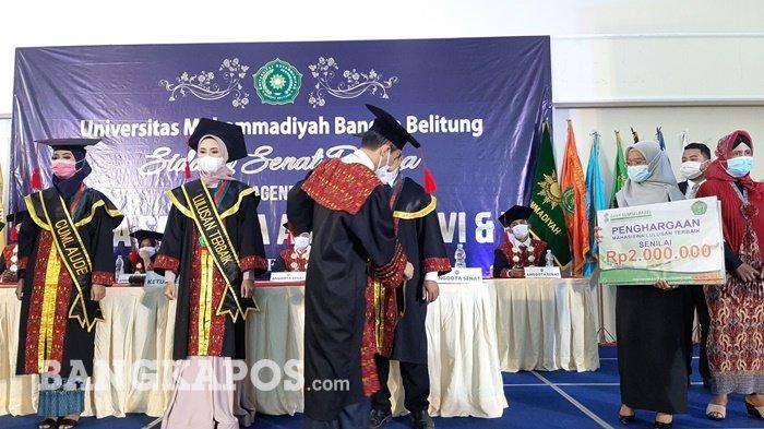 Universitas Muhammadiyah Bangka Belitung Wisuda 151 Sarjana, Ini Pesan Rektor - wis6.jpg