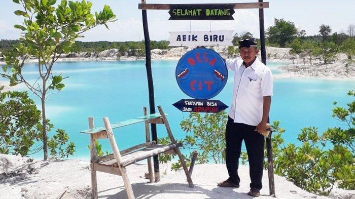 Desa Cit  Kembangkan Potensi Wisata Aeik Biru
