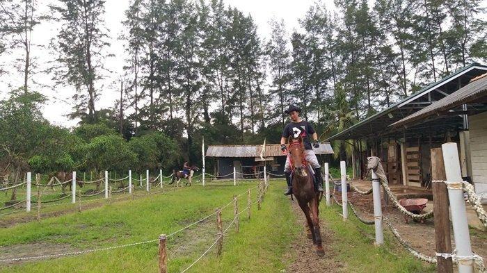 Asyiknya Wisata Berkuda di BBG, Cobakan Sensasi Menunggang Kuda Seperti Koboy