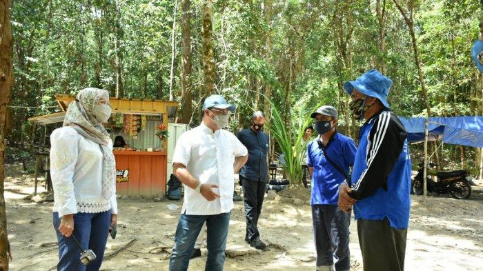 Gubernur Erzaldi Eksplorasi Objek Wisata Batu Mentas