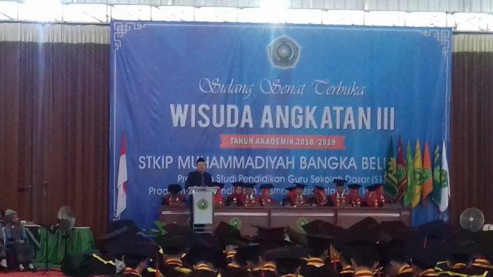 Alumni STKIP Muhammadiyah Diminta Sosialisasikan Pengetahuan Kepada Masyarakat