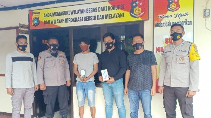Residivis Sedang Masa Asimilasi Kepergok Curi Handphone Ditangkap Warga Bukit Tani Belinyu