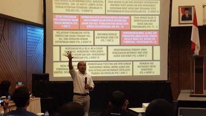 Puluhan Jurnalis dan Humas Pemda Ikuti Workshop Dewan Pers