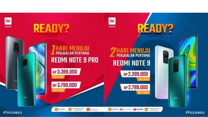 Redmi Note seri 9 Mulai Dijual Xiaomi di Indonesia, Segini Harganya