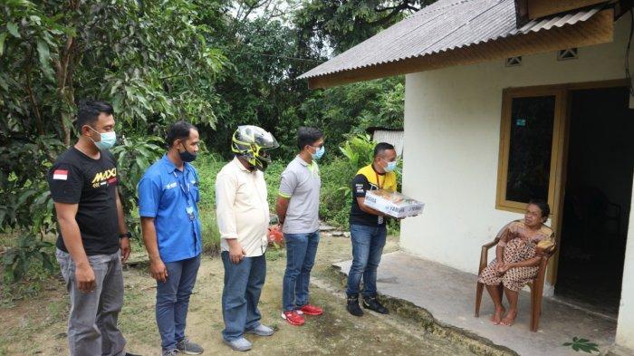Ngoboy Bareng Yamaha, Aksi Berbagi Sembako Buat Masyarakat