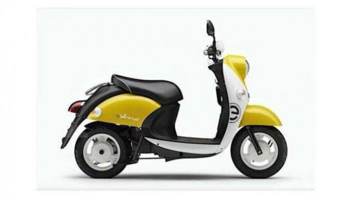 SKUTER Listrik e-Vino Yamaha Bentuknya Imut, Harganya Cuma Segini