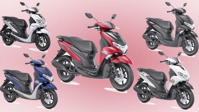 Yamaha FreeGo S Version Dilengkapi Warna Baru