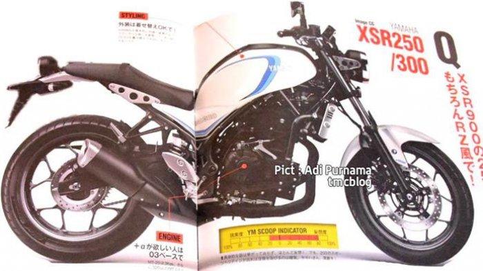 Yamaha Siapkan Motor Model Baru Pesaing Ninja 250