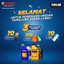Program Sobek Label Oli Yamalube