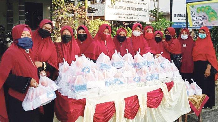 Yayasan HPM Kecamatan Muntok Peduli Kaum Dhuafa dan Kurang Mampu