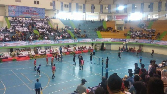 Kemenpora Raih Medali Emas Bola Voli, Usai Tundukkan Tim Yogyakarta
