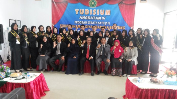44 Mahasiswa STKIP Ikuti Yudisium Angkatan IV