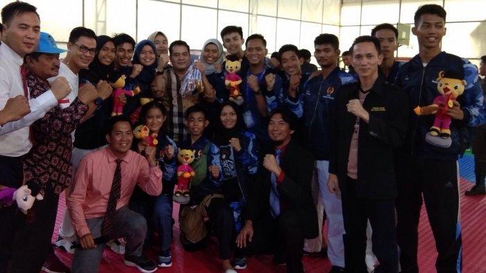 Geser Beltim, Bateng Bawa Pulang Gelar Juara Umum Cabor Taekwondo