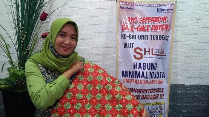 Kembangkan Budaya Khas Daerah Bangka Belitung Jadi Tekad Yundarti Tekuni Bisnis Batik