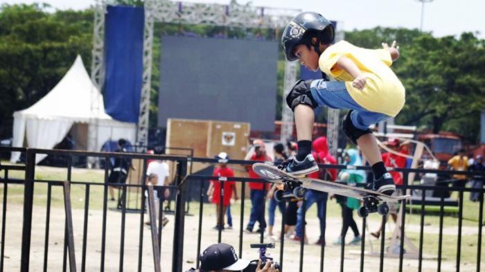 Yusi Skater Termuda di TAFISA Games 2016