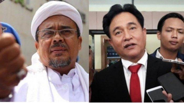 Yusril Ihza Mahendra Tolak Bantu Habib Rizieq, Sarankan Hubungi Prabowo Subianto