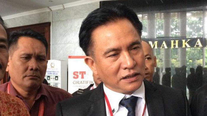 Yusril Jadi Ketua Tim Hukum Jokowi-Ma'ruf Untuk Hadapi Gugatan Sengketa Pilpres 2019