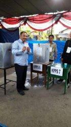 Yusroni, Kandidat Cawagub Tak Dapat Formulir C6, Terpaksa Nyoblos dengan KTP
