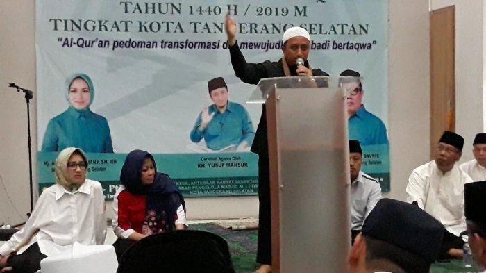 Kritik Keras Yusuf Mansyur Soal Larangan Penggunaan Cadar dan Celana Cingkrang oleh Menteri Agama