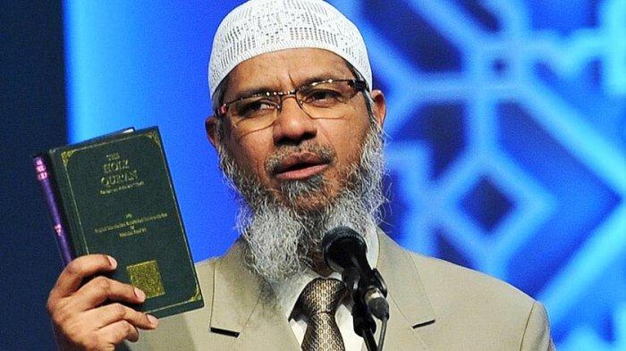 Fakta Tentang Dr Zakir Naik, Putra Dai Hebat Darinya, Foto Istri dan PutrinyaTak Ada di Google