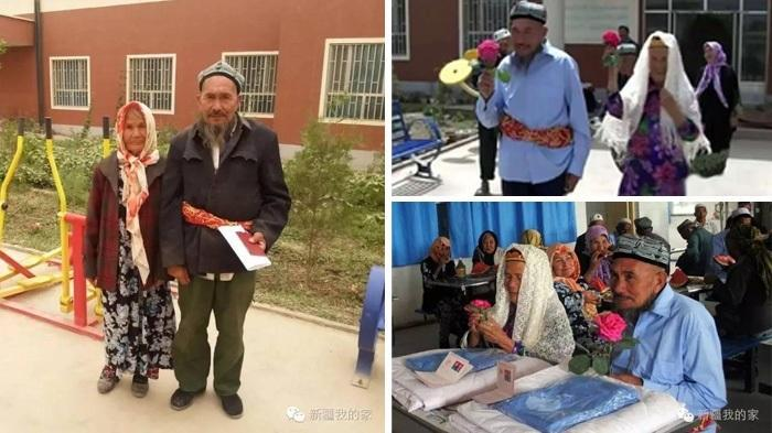 So Sweet,  Kisah Cinta Kakek 71 Tahun yang Nikahi Nenek 114 Tahun