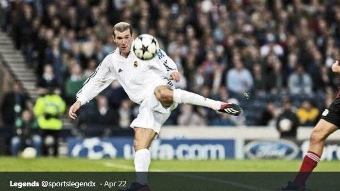 Zidane Bongkar Teknik Gol Ajaib Saat Kontra Bayer Leverkusen pada 15 Mei 2002